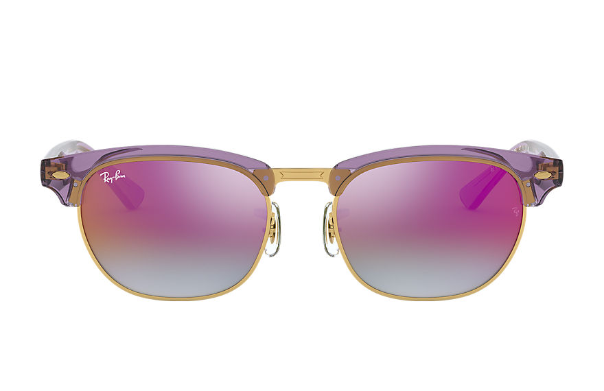 Ray-Ban  sunglasses RJ9050S CHILD 001 clubmaster junior violet 8053672835021