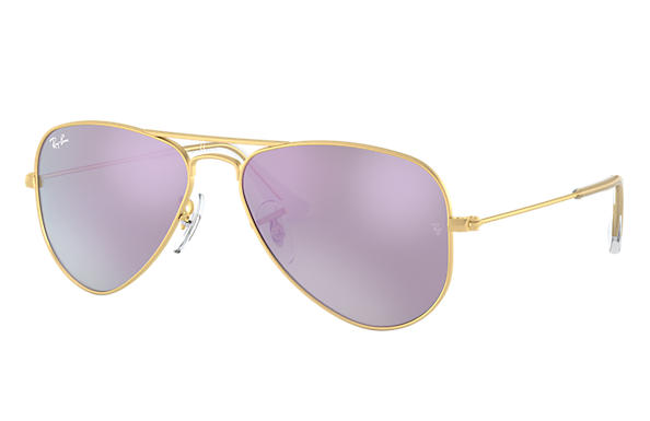 Ray-Ban 0RJ9506S-AVIATOR JUNIOR Or SUN