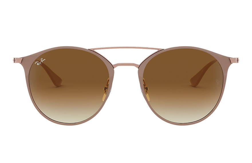 Ray-Ban Sunglasses RB3546 Light Brown with Light Brown Gradient lens
