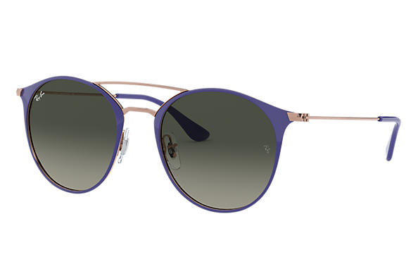 Ray-Ban Sunglasses RB3546 Violet with Grey Gradient lens