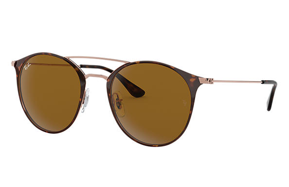 Ray-Ban Sunglasses RB3546 Tortoise with Brown Classic B-15 lens