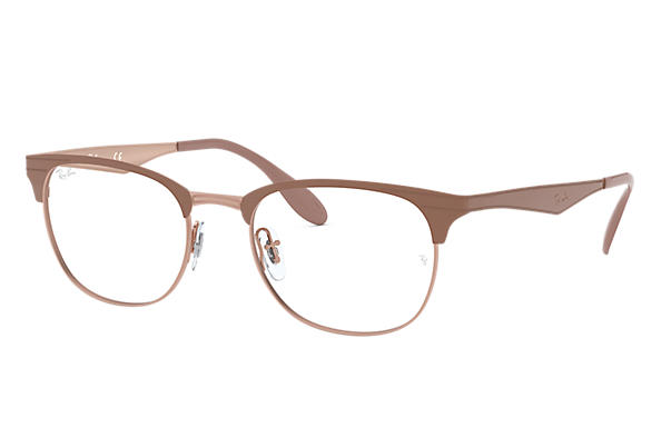 Ray-Ban 0RX6346-RB6346 Light Brown OPTICAL