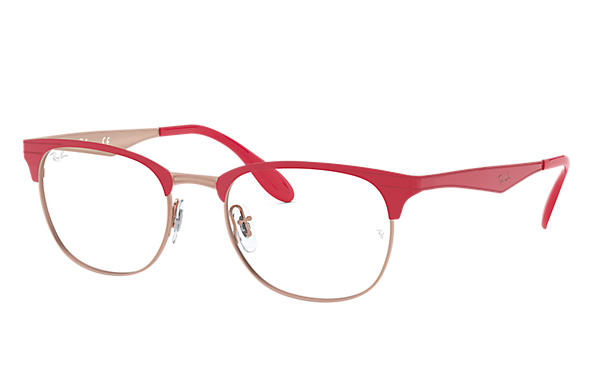 Ray-Ban 0RX6346-RB6346 Rosso,Bronzo-Rame OPTICAL