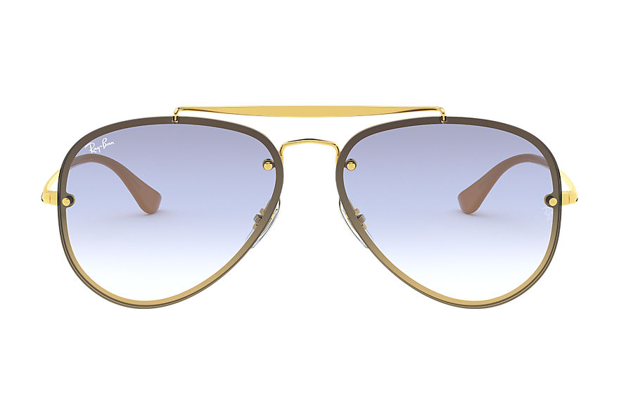 Ray-Ban  sonnenbrillen RB3584N MALE 002 blaze aviator gold 8053672836981