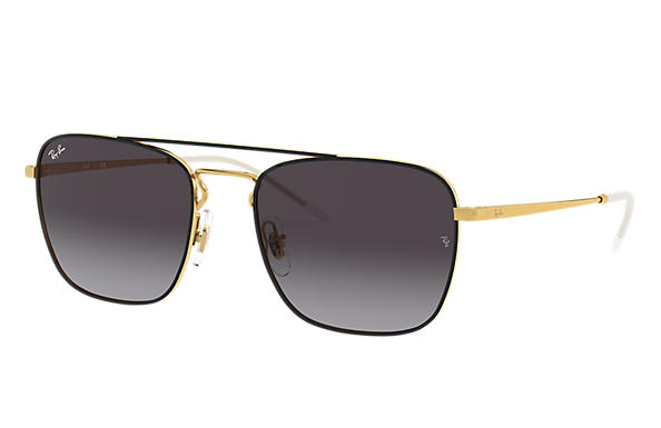 Ray-Ban 0RB3588-RB3588 Noir,Or; Or SUN