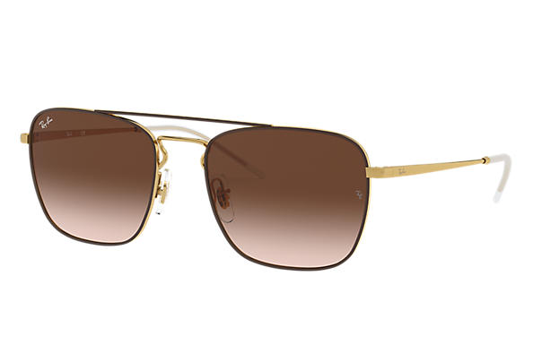 Ray-Ban 0RB3588-RB3588 Marrón,Oro; Oro SUN