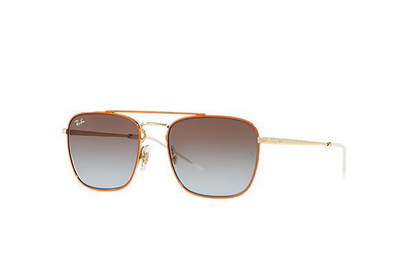 Ray-Ban 0RB3588-RB3588 Orange,Gold; Gold SUN