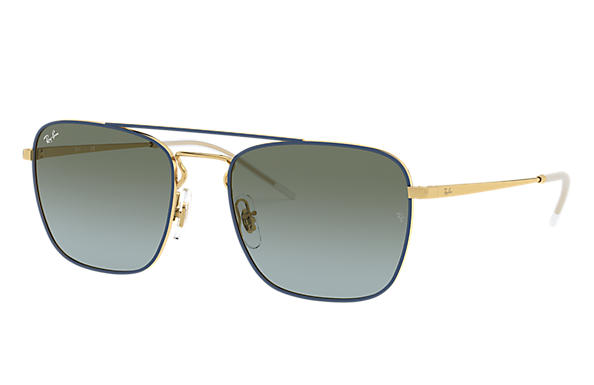 Ray-Ban 0RB3588-RB3588 Blau,Gold; Gold SUN