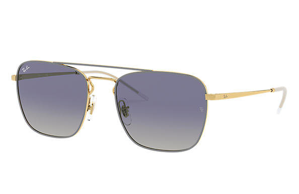 Ray-Ban 0RB3588-RB3588 Grey,Gold; Gold SUN