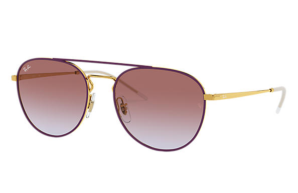 Ray-Ban 0RB3589-RB3589 Violet,Or; Or SUN