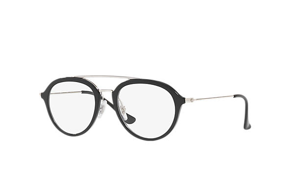 Ray-Ban 0RY9065V-RB9065V Black; Silver OPTICAL