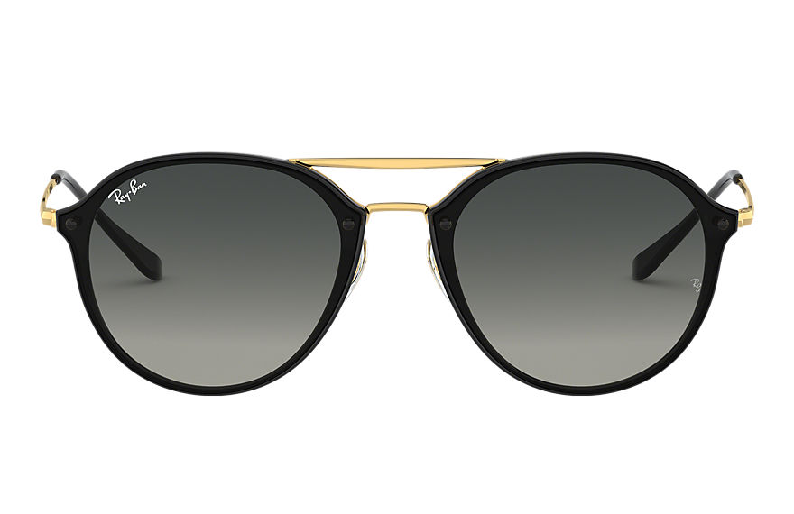 Ray-Ban  sunglasses RB4292N MALE 002 骄阳系列双梁款 黑色 8053672837872