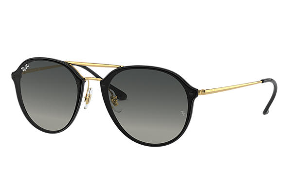 Ray-Ban 0RB4292N-BLAZE DOUBLE BRIDGE Preto; Ouro SUN
