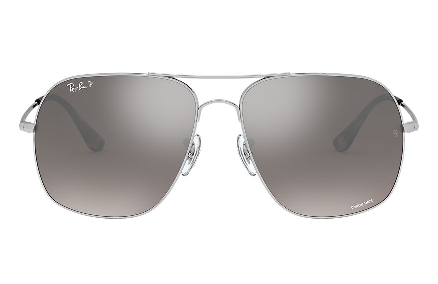 Ray-Ban  gafas de sol RB3587CH MALE 001 rb3587 chromance plata 8053672839234