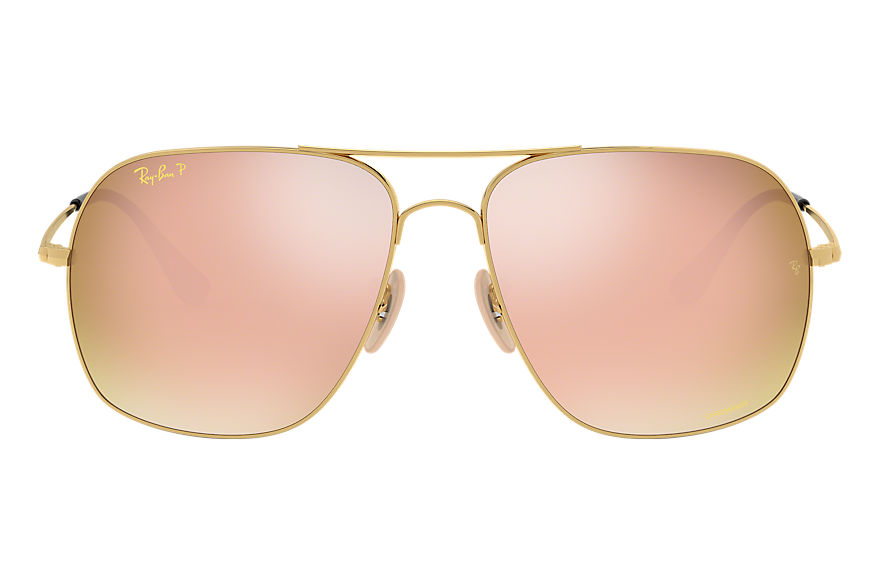 Ray-Ban  gafas de sol RB3587CH MALE 002 rb3587 chromance oro 8053672839241