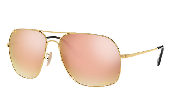 Ray-Ban 0RB3587CH-RB3587 CHROMANCE Or SUN