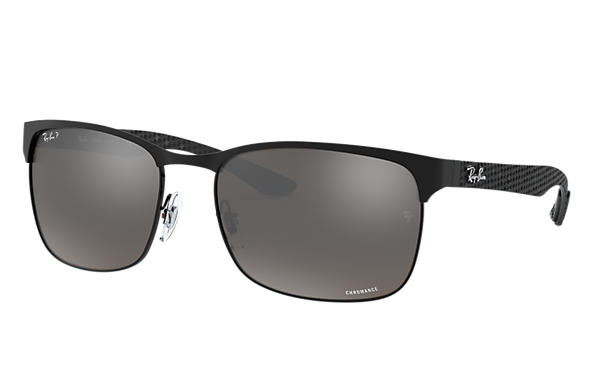 Ray-Ban 0RB8319CH-RB8319 CHROMANCE Nero SUN