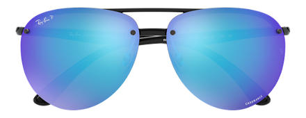 Ray-Ban RB4293 CHROMANCE Black with Blue Mirror Chromance lens