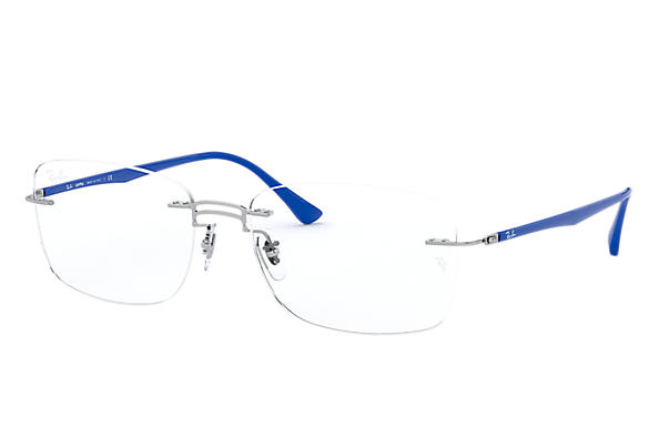 Ray-Ban 0RX8750-RB8750 Silver; Blue OPTICAL