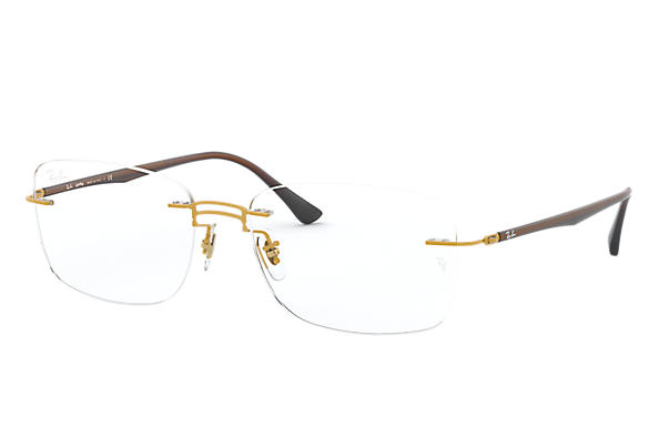 Ray-Ban 0RX8750-RB8750 Oro; Marrone OPTICAL