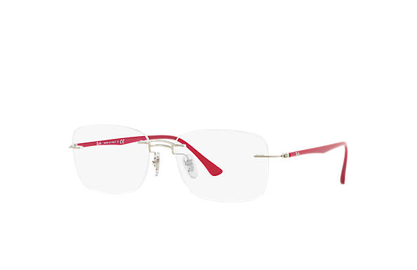 Ray-Ban 0RX8750-RB8750 Silver; Purple-Reddish OPTICAL