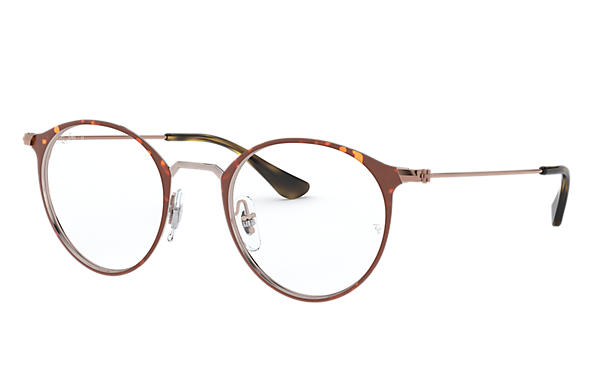 Ray-Ban 0RX6378F-RB6378F Tortoise; Gold OPTICAL