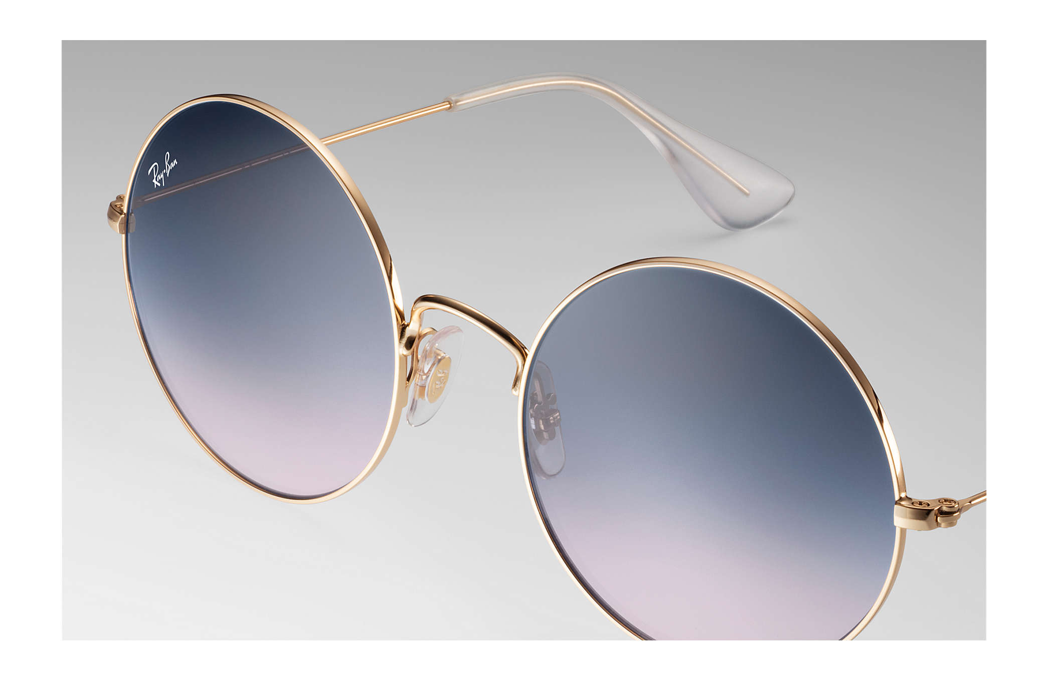 74f7b55314d Ray-Ban Ja-jo RB3592 Gold - Metal - Blue Lenses - 0RB3592001 I955 ...