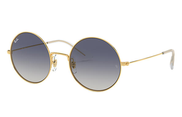8444796ad0 Ray-Ban Ja-jo RB3592 Gold - Metal - Blue Lenses - 0RB3592001 I955 ...
