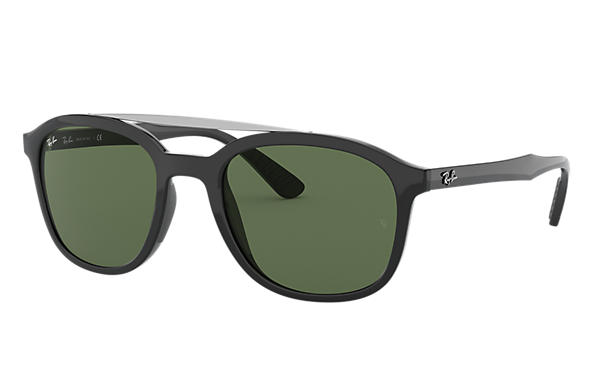 b5f93c70e7c Ray-Ban RB4290 Black - Nylon - Green Lenses - 0RB4290601 7153