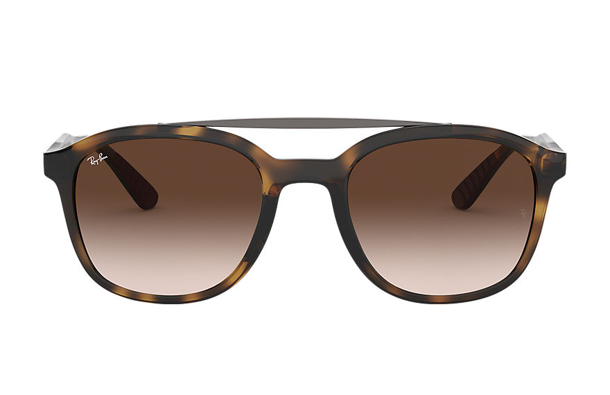 Ray-Ban RB4290 Tortoise with Brown Gradient lens