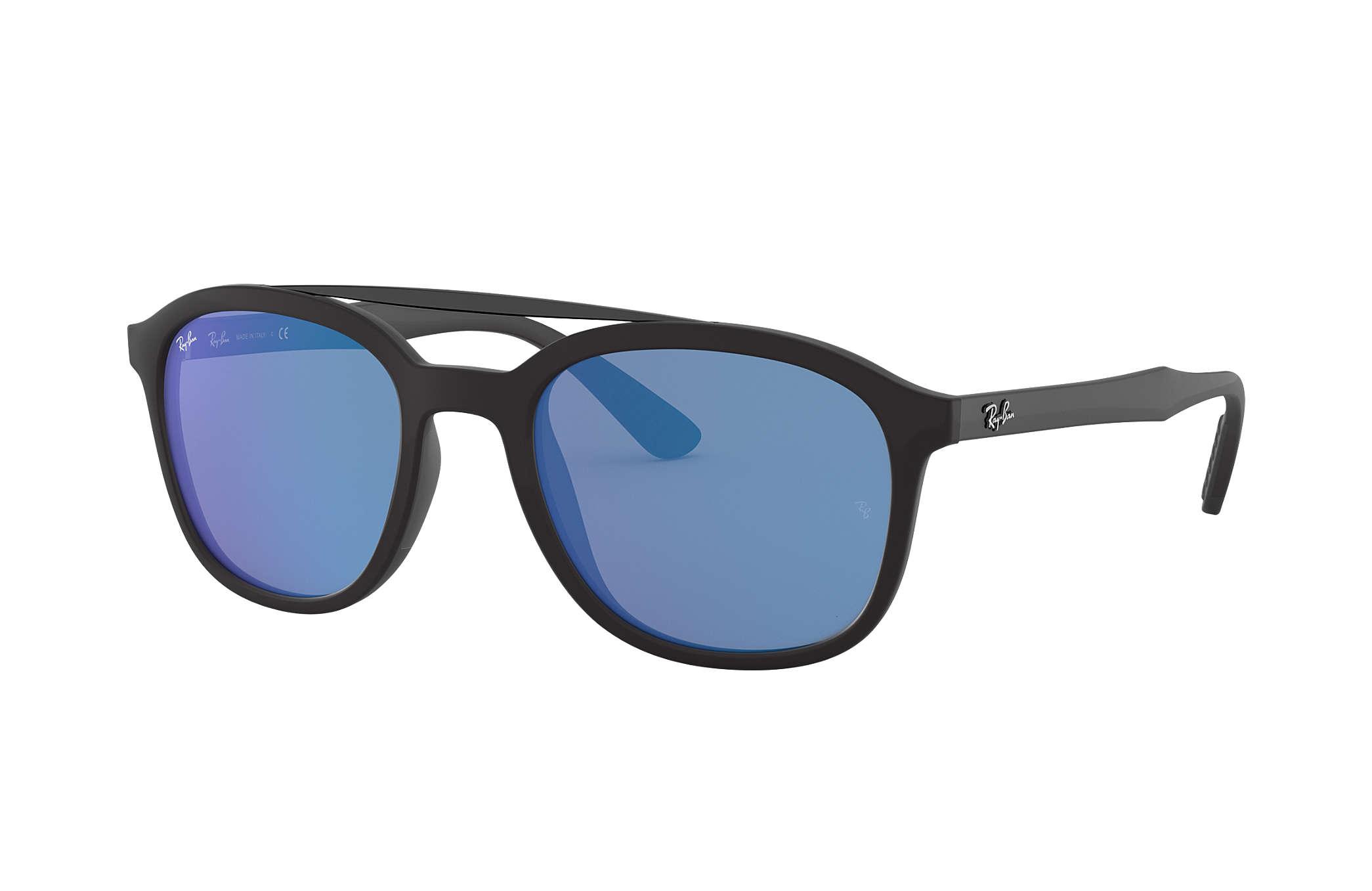 ea9e015d3d0 Ray-Ban RB4290 Black - Nylon - Blue Lenses - 0RB4290601S5553