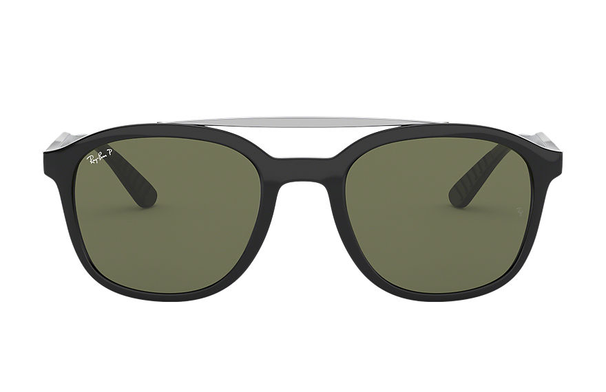 Ray-Ban RB4290 Black with Green Classic G-15 lens