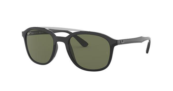 5add009c35 Ray-Ban RB4290 Black - Nylon - Green Polarized Lenses - 0RB4290601 9A53