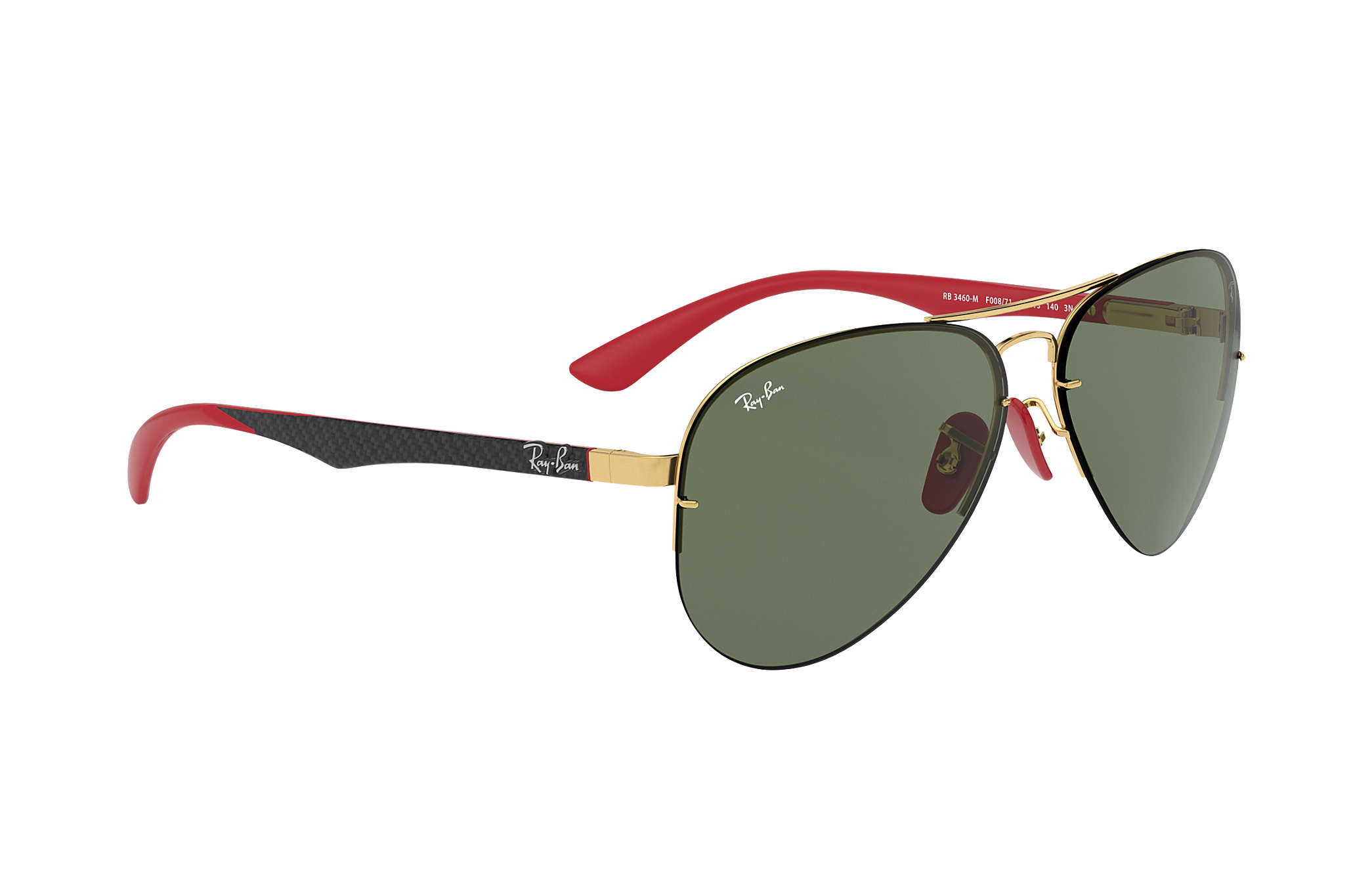 ca81bda802 Ray-Ban Rb3460m Scuderia Ferrari Collection RB3460M Gold - Metal ...