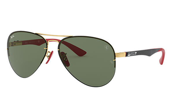 Ray-Ban 0RB3460M-RB3460M SCUDERIA FERRARI COLLECTION 金色; 黑色,紅色 SUN
