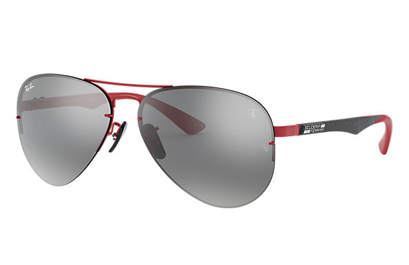 Ray-Ban 0RB3460M-RB3460M SCUDERIA FERRARI COLLECTION Red; Black,Red SUN