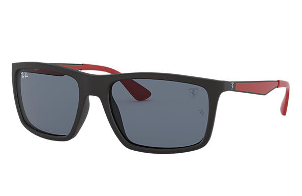 Ray-Ban 0RB4228M-RB4228M SCUDERIA FERRARI COLLECTION Black; Gunmetal,Red SUN