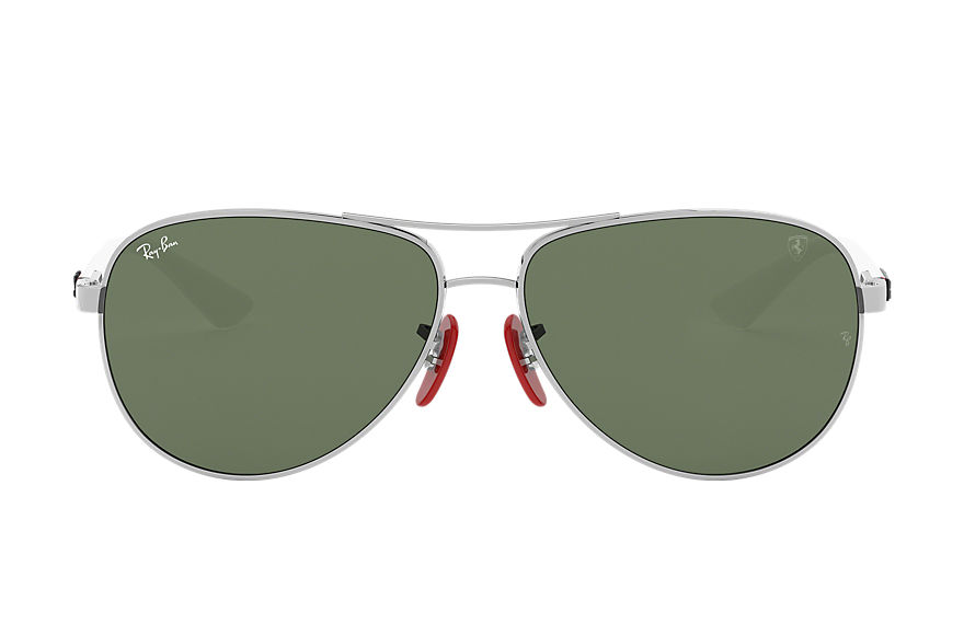 Ray-Ban  sonnenbrillen RB8313M MALE 006 rb8313m scuderia ferrari collection silber 8053672845266