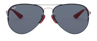 Ray-Ban RB3460M SCUDERIA FERRARI COLLECTION Silver with Grey Classic lens