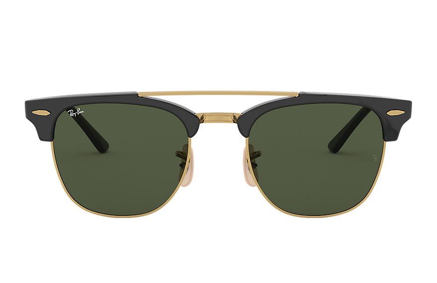Ray-Ban  gafas de sol RB3816 MALE 005 clubmaster double bridge negro 8053672851014