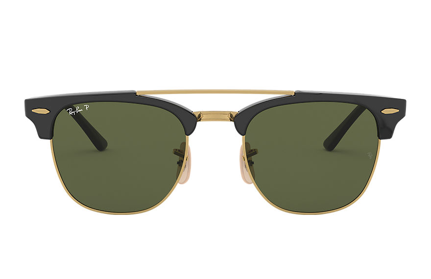 Ray-Ban  sonnenbrillen RB3816 MALE 006 clubmaster double bridge schwarz 8053672851076