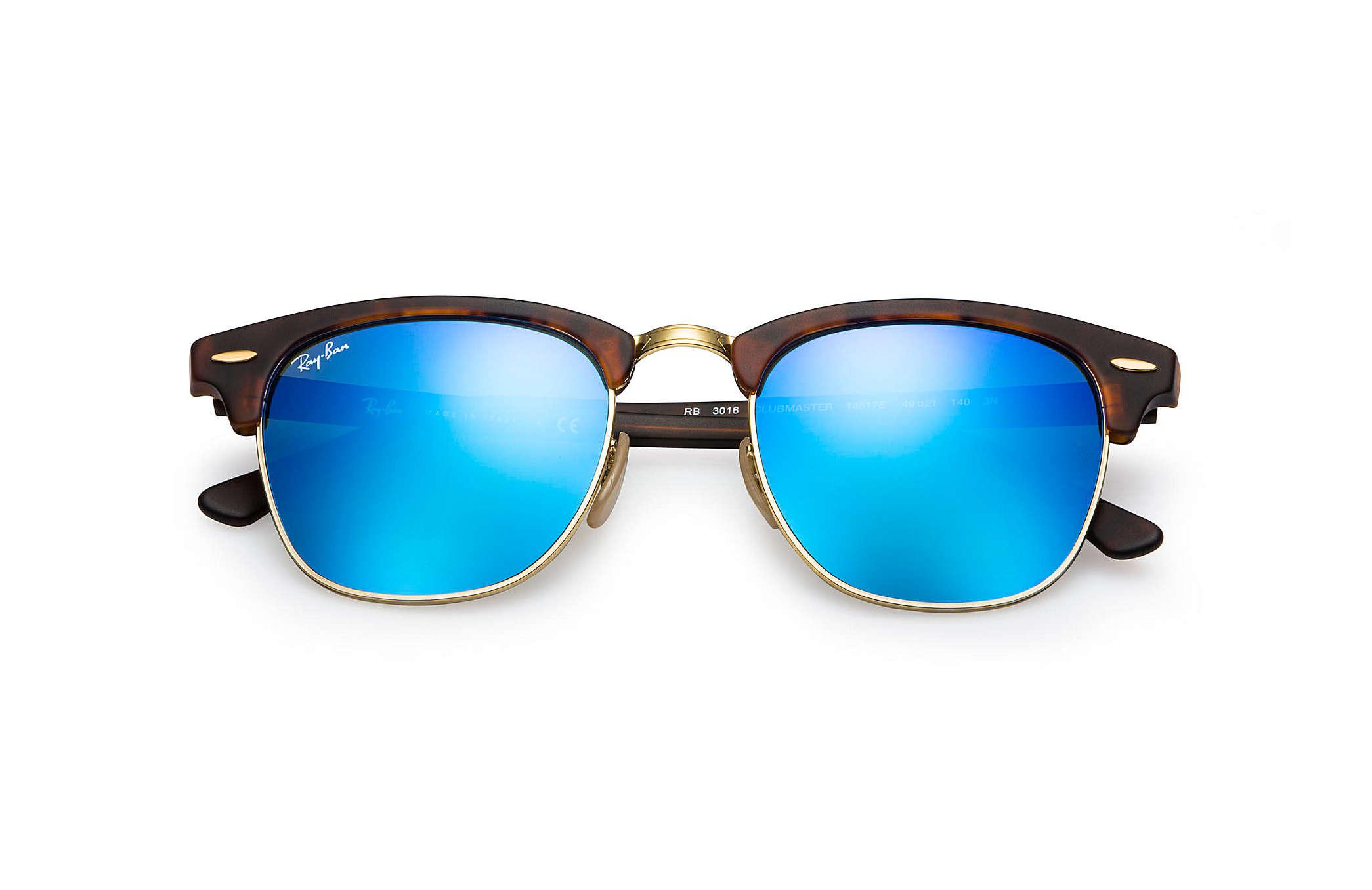 ray ban clubmaster blau