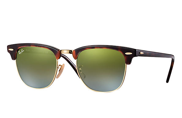 Sonnenbrille Clubmaster Flash Lenses Havana S3P6Yb
