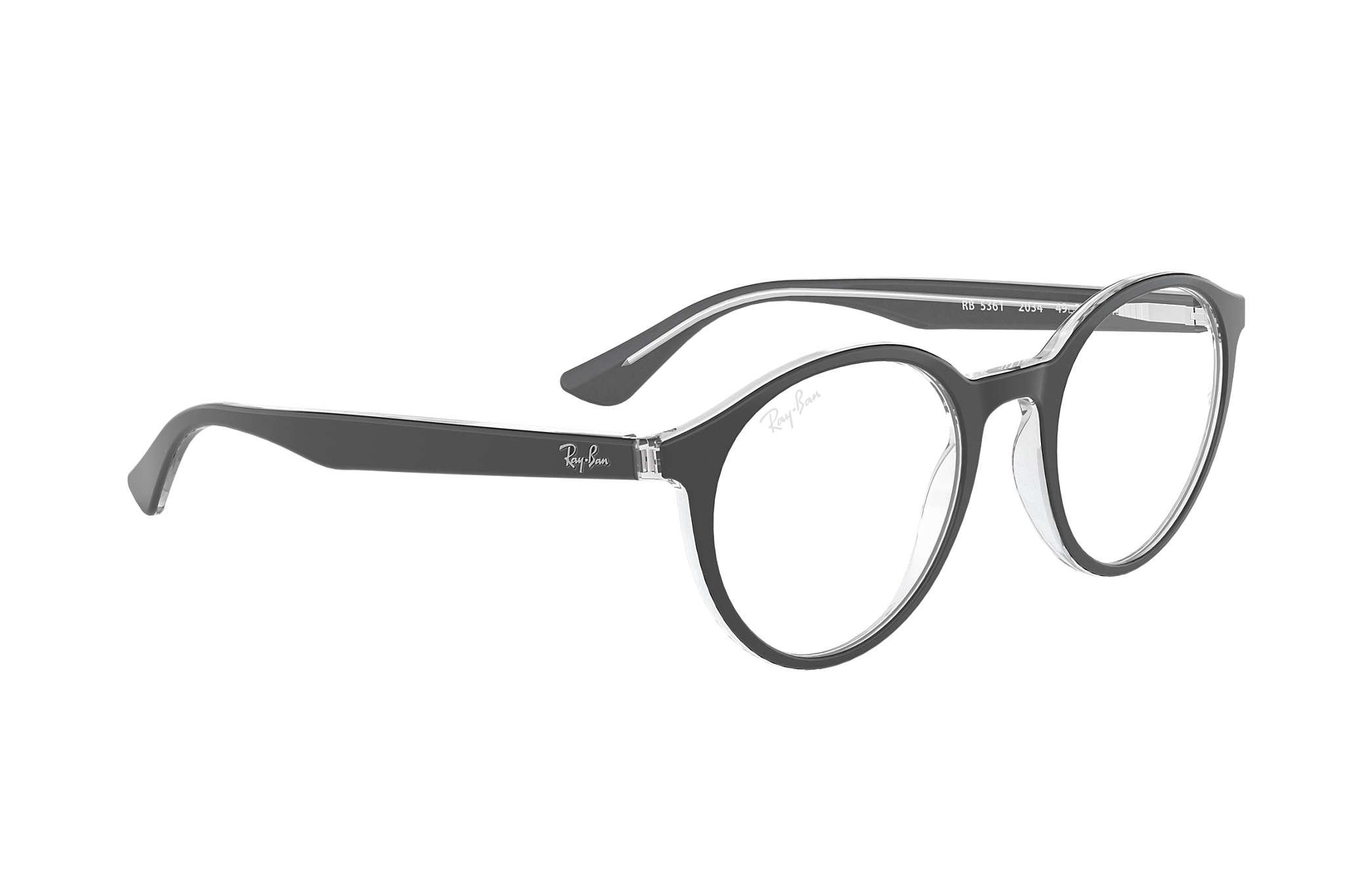 eb71c2eced Ray-Ban prescription glasses RB5361 Black - Acetate - 0RX5361203451 ...