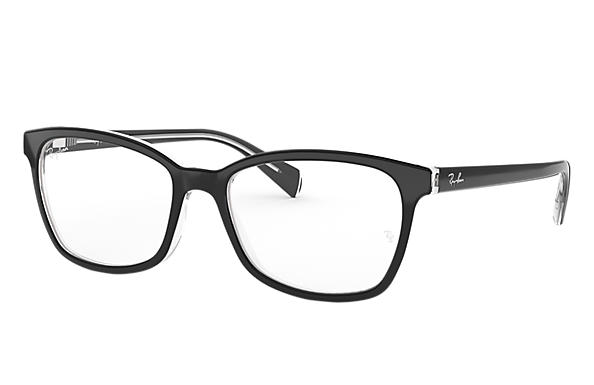 Ray-Ban 0RX5362-RB5362 Nero,Trasparente OPTICAL