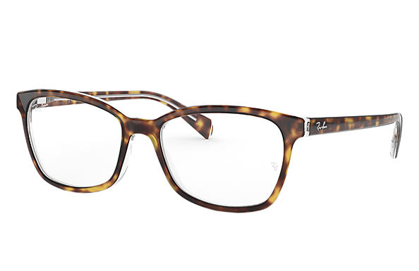Ray-Ban 0RX5362-RB5362 Tortoise,Transparent OPTICAL