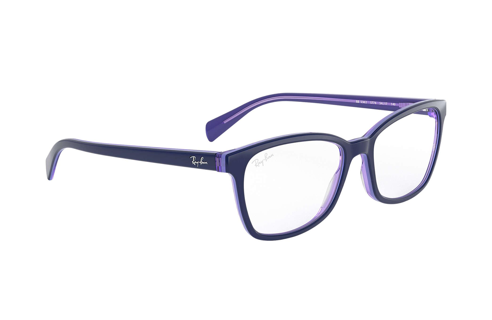 23272cfa80 Ray-Ban prescription glasses RB5362 Blue - Acetate - 0RX5362577654 ...