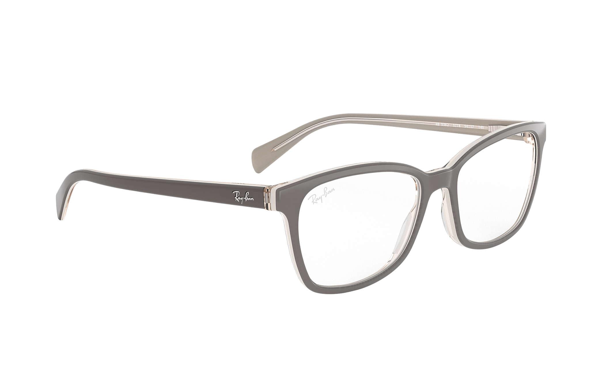 cb0941ec70 Ray-Ban prescription glasses RB5362 Grey - Acetate - 0RX5362577854 ...