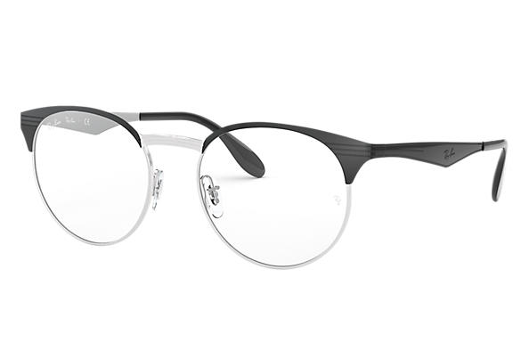 Ray-Ban 0RX6406-RB6406 Nero,Argento OPTICAL