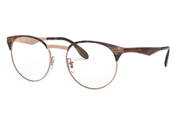 Ray-Ban 0RX6406-RB6406 Tortoise,Bronze-Copper OPTICAL